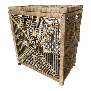 Handmade Rattan Hamper Basket
