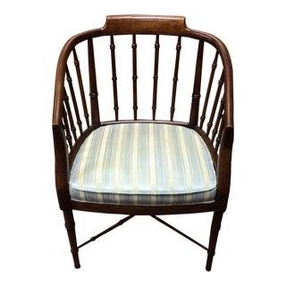Drexel Bicentennial Striped Chair