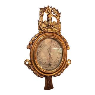 1910 Louis XV Gilt Barometer