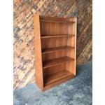 Image of Mid-Century Refinished Teak Bookshelf