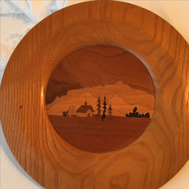 Image of Wooden Inlay Plate