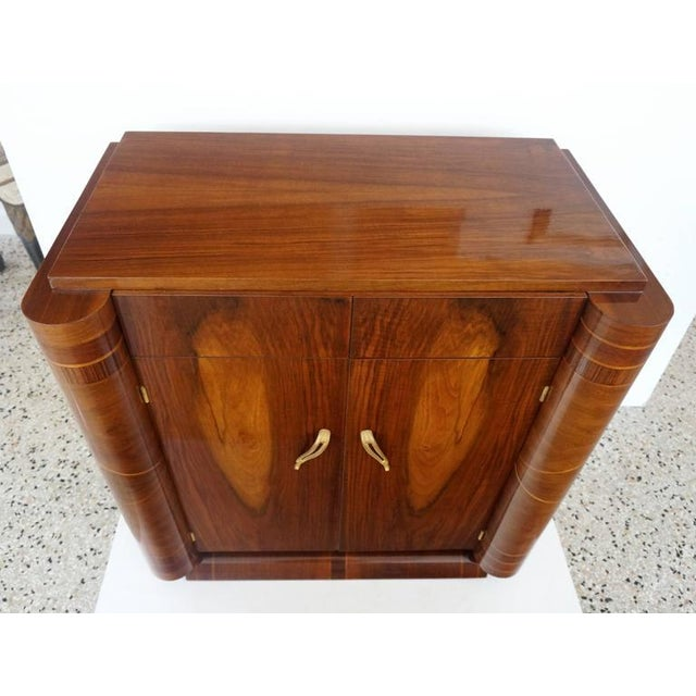 French Art Deco Two-Door Cabinet - Image 9 of 10