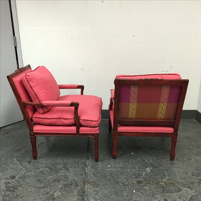 Minton-Spidell Cressant Chairs- A Pair - Image 6 of 11
