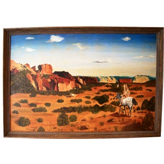 Native American High Plains Landscape