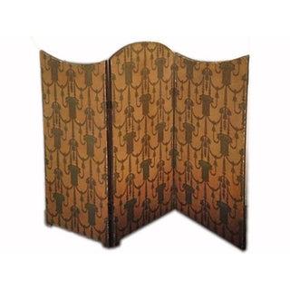 Reversible Art Deco Folding Screen