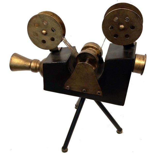 Image of Olivier Vintage Movie Reel Camera Replica