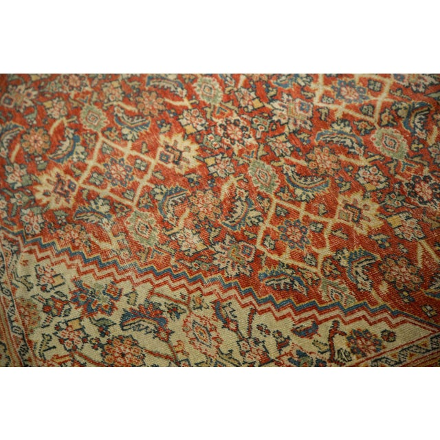 "Antique Mahal Square Carpet - 9'11"" x 9'8"" - Image 6 of 10"