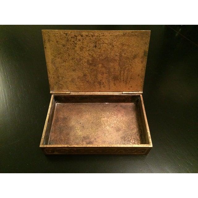 Tiffany Studios Zodiac Stamp Box - Image 3 of 6