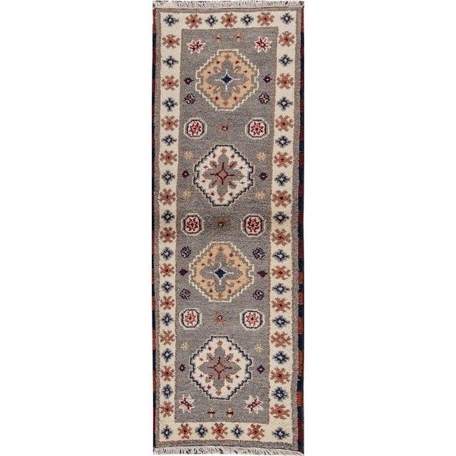 "Apadana - Modern Kazak Rug, 2'1"" x 6'6"" - Image 2 of 8"