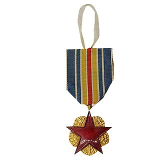 French Wounded War Medal Ornament