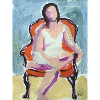 Woman Seated II by Heidi Lanino