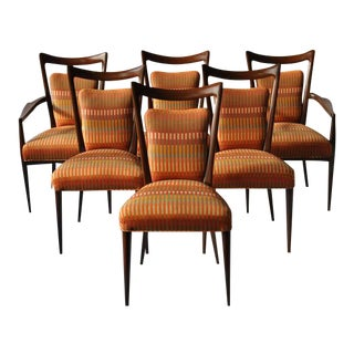 Set of Six Erno Fabry Dining Chair