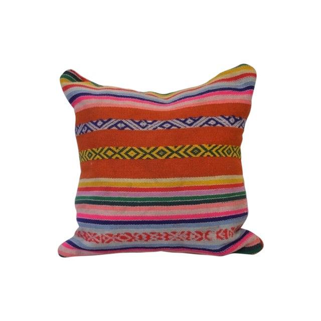 Decorative Peruvian Pillow - Image 1 of 4