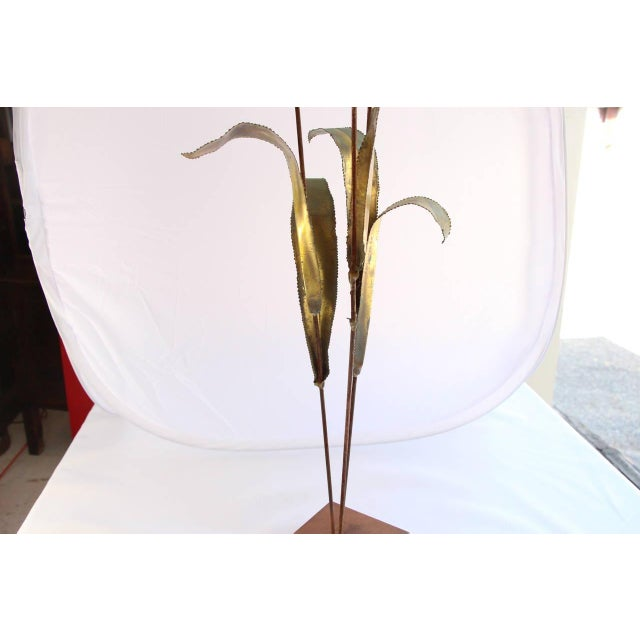 Mid-century Jere Cattail Sculpture - Image 1 of 5