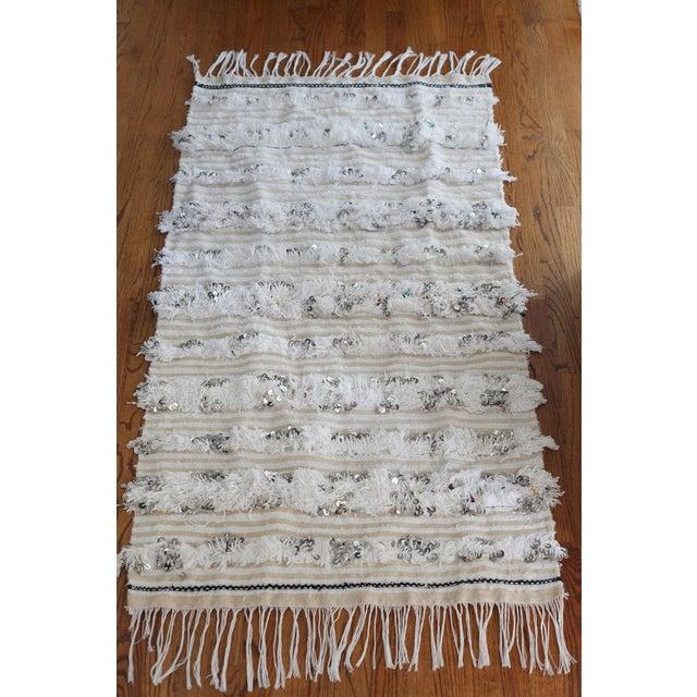 Moroccan Wedding Blanket - Image 2 of 7