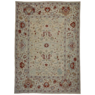 Contemporary Turkish Oushak Rug - 13' x 18'4""