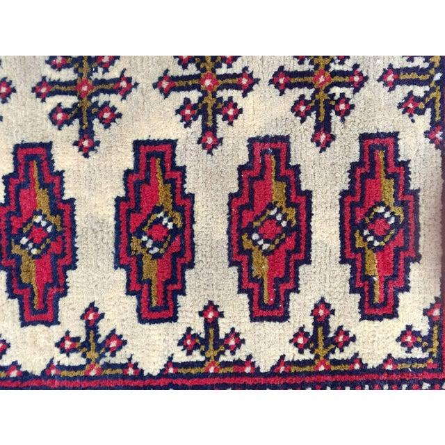 "Turkaman Persian Handmade Rug - 1'8"" x 3'5"" - Image 5 of 9"
