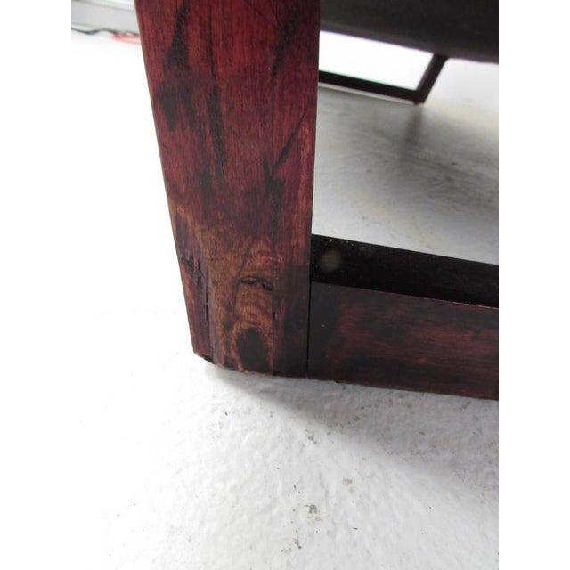 Vintage Modern Sled Leg Slipper Sofas - A Pair - Image 9 of 10