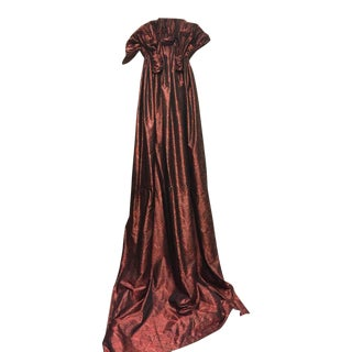 Silk Ruched Drapery