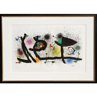 Joan Miro - Sculptures (M. 950) Lithograph