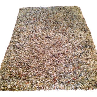 Crate & Barrel Paolo Wool Rug - 4' X 6'