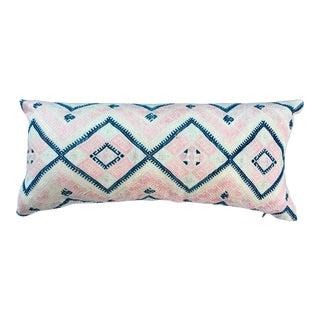 Antique Silk Wedding Pillow