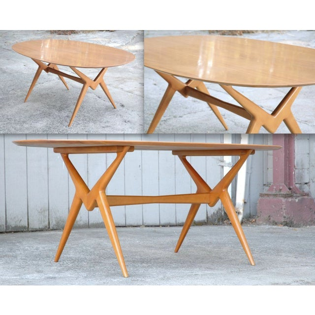 Image of Renzo Rutili Sculptural Dining Table