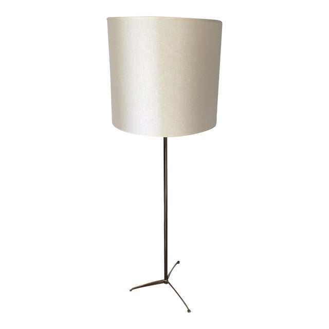 Image of Bob Gold Mitchell Williams Chrome Floor Lamp