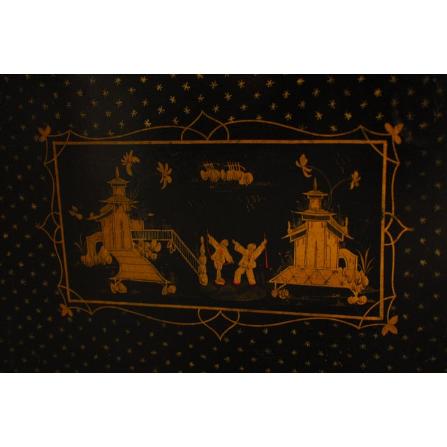 Chinoiserie Tole Serving Tray - Image 2 of 4