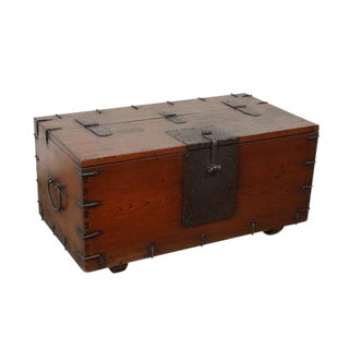 19th C. Japanese Trunk