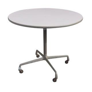 Vintage Eames Herman Miller Pedestal Table