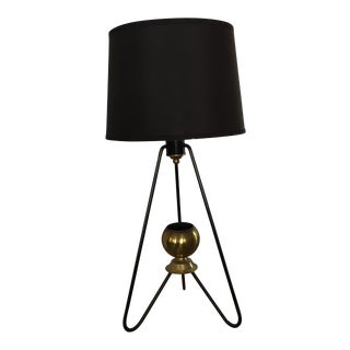 Gerald Thurston for Lightolier Hairpin Tripod Table Lamp