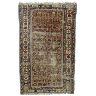 Hand Knotted Wool Russian Rug- 3′3″ × 5′3″