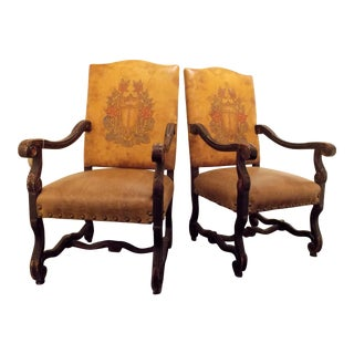 Entry Chairs by Old Hickory Tannery - A Pair
