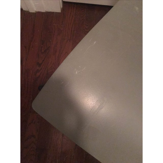 Vignelli Knoll Grey Armless Handkerchief Chair - Image 6 of 8