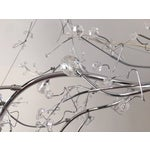 Image of Silver Crystal Branch Chandelier