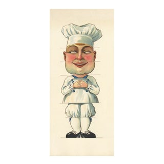 Vintage French Baker Archival Print