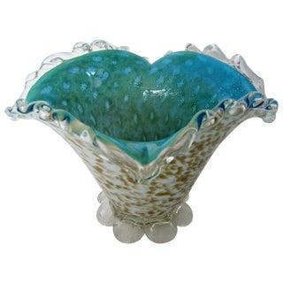 Murano Cased Glass Vase