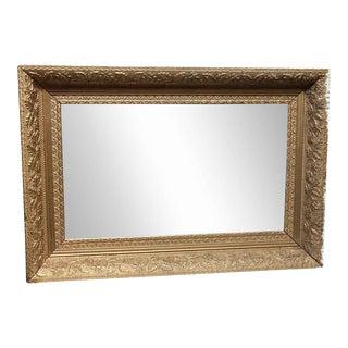Gold Colored Antique Mirror