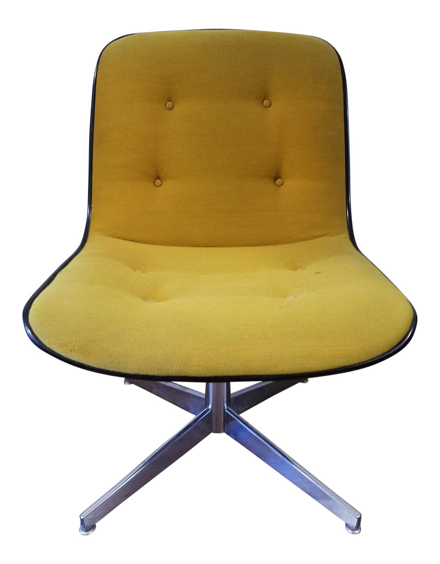 1970s steelcase side chair