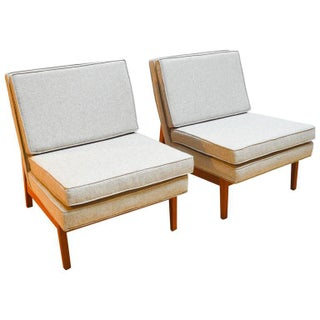 Jack Cartwright Mid-Century Modern Lounge Chairs - a Pair
