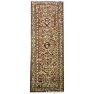 Vintage Persian Hamedan Rug - 3'6'' x 11'
