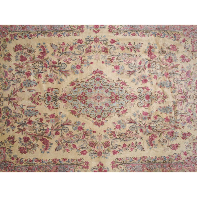 "Leon Banilivi Lavar Kerman Carpet - 9'7"" X 14'4"" - Image 4 of 6"