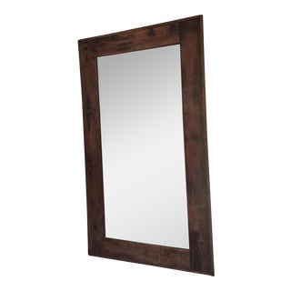 Restoration Hardware Salvaged Boatwood Mirror