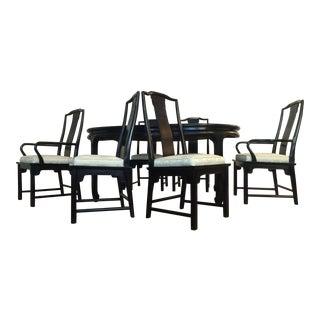 Century Chin Hua Burl Dining Set