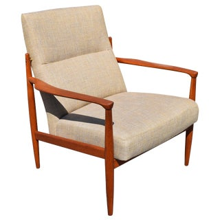 Vintage Danish Modern Lounge Easy Chair