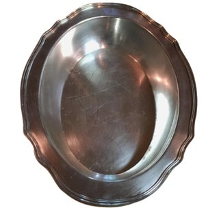 1930s Gorham Silver-Plate Serving Bowl