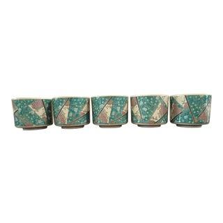 Japanese Rice Bowls - Set of 5
