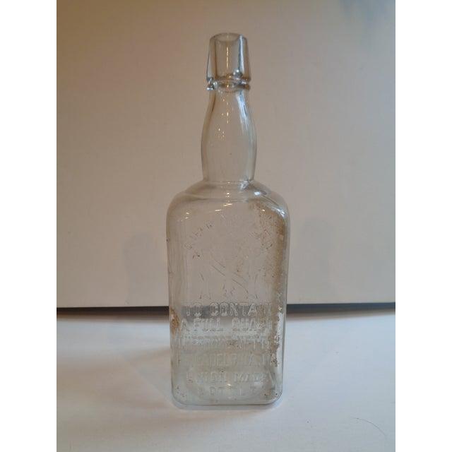 Vintage 1890s Theodore Netter Philadelphia Whiskey Bottle - Image 2 of 4