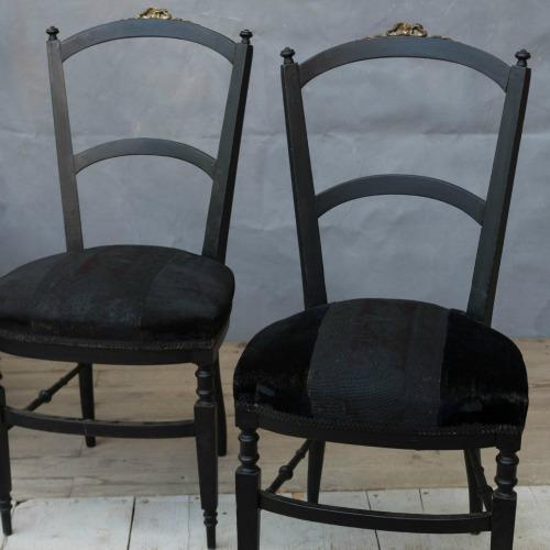 Vintage French Dining Chair - Image 3 of 10